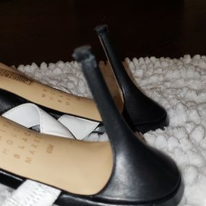 White House Black Market Shoes - White House Black Market heel slides